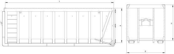 FRASSUR Abrollcontainer